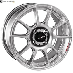 "15"" Lenso PD-F Silver Machined"