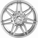 "15"" Onyx 1539 Silver (Hyper) Satin 8h"