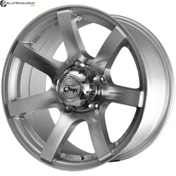 "17"" Onyx 1704 Silver Machined"