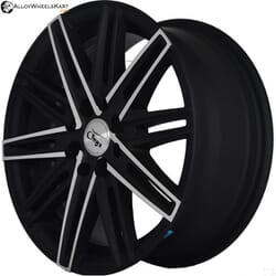 "15"" Onyx 1545 Black Polished with Matt 100 108"