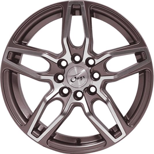 "15"" Onyx 1505 Copper Satin & Polished Metal"
