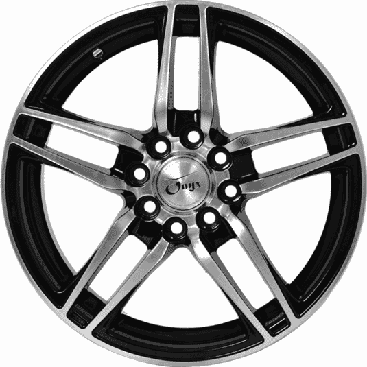 "15"" Onyx NF253 Black Glossy & Polished metal"
