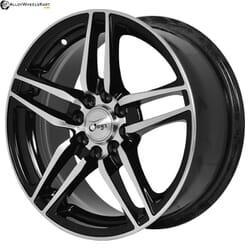 "15"" Onyx NF253 Black Glossy & Polished metal"