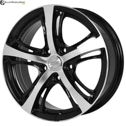 "16"" SSW E102 Black Glossy & Polished Metal"