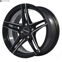 "15"" Onyx 0575U Black Glossy & Polished Metal Milling"
