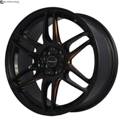 "17"" Onyx M1581 Black Glossy & Gloss Golden"