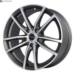 "17"" Onyx MQ690 Gunmetal Satin & Polished Metal"