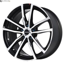"17"" Onyx MQ690 Black Glossy & Polished Metal"