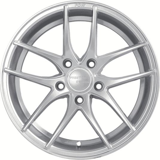 """16"""" Prestige MA01 Silver (Hyper) Satin"""