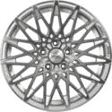 "17"" Veloche V140 Silver (Hyper) Satin & Polished Metal"