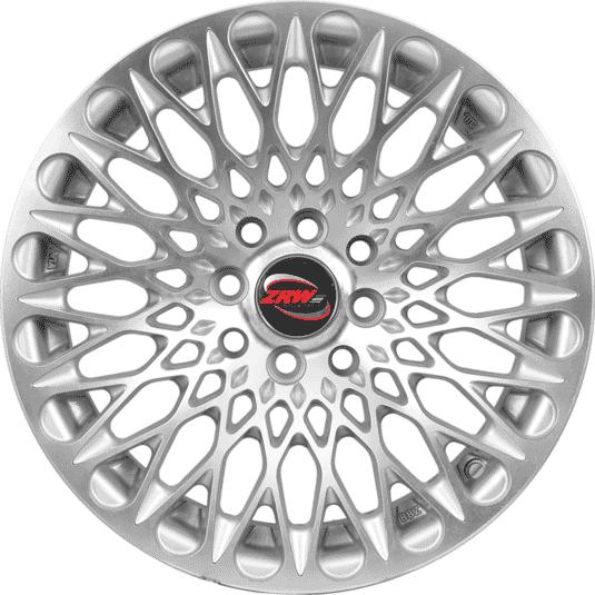 15 Inches ZRW N032 Silver (Hyper) Satin & Polished Metal