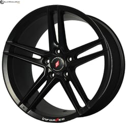 "18"" Inforged 2243 Black Satin"