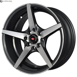 "15"" Inforged 2206 Gun Metal Glossy & Polished Metal"