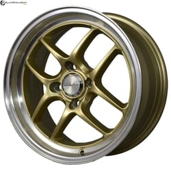 "15"" Inforged 1811 Golden glossy & Polished Metal"