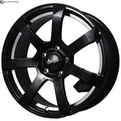 "17"" Advanti MK512U Black Glossy w Silver ring"