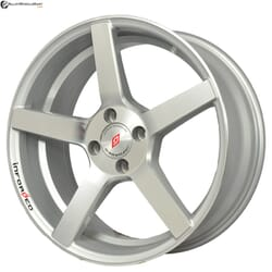 "17"" Inforged 1789 Silver (Hyper) Glossy And Machined Metal"