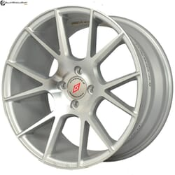 "17"" Inforged 2224 Silver (Hyper) Glossy And Machined Metal"