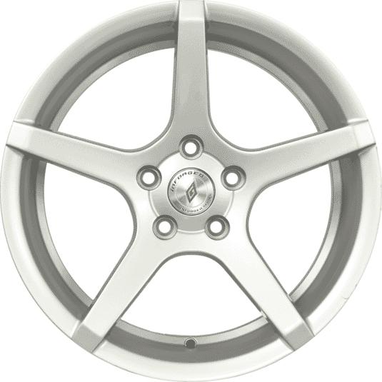 "17"" Inforged 5234 Silver (Hyper) Satin"