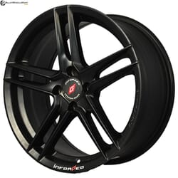 "17"" Inforged IFG33 Black Satin"