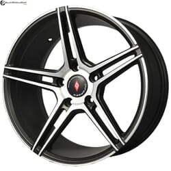 "17"" Inforged 1915 Black Satin & Matt Silver"