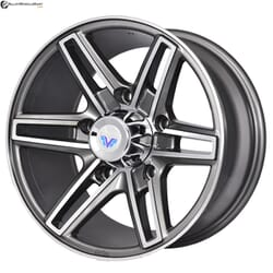 "16"" Prestige 6004 Gun Metal Glossy & Polished Metal"