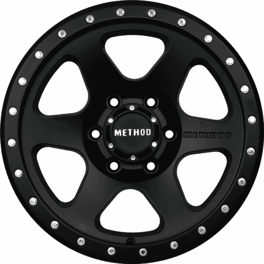 "17"" Method 6001 Black Satin"