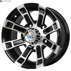 "15"" Prestige 994 Black Glossy & Polished Metal"