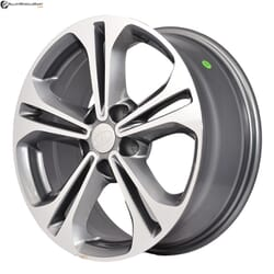"17"" Prestige 766+324 Gun Metal Glossy & Polished Metal"