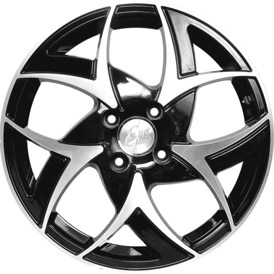 "16"" Prestige 957 Black Glossy & Polished Metal"