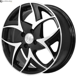 "16"" Prestige 957 Black Glossy & Polished Metal"