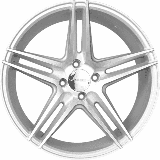 "17"" Prestige 823 Silver (Hyper) Satin & Polished Metal"