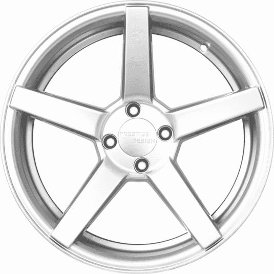 """17"""" Prestige 693 Silver (Hyper) Satin"""