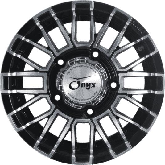 "15"" Onyx 1533 Black Glossy & Polished Metal"