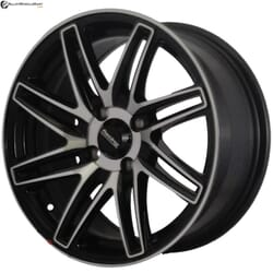 "15"" Onyx MP669 Black Glossy & Polished Metal"