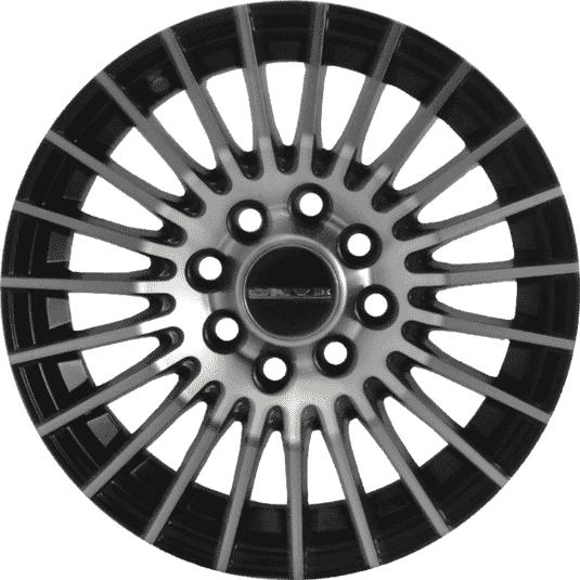 "13"" Onyx MR79 Black Glossy & Polished Metal"