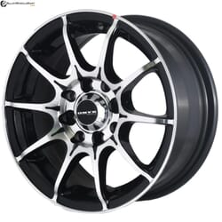 "14"" Onyx MR79 Black Glossy & Polished Metal"