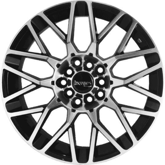 "15"" Incubus 418 Black Glossy & Polished Metal 8h"