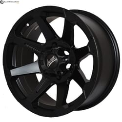 "17"" Flying Eagle 781 Black Satin"