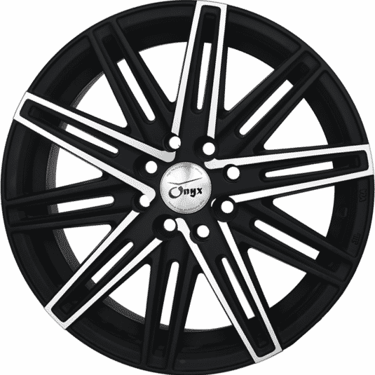"15"" Onyx 1545 Black Polished with Matt 100 108"