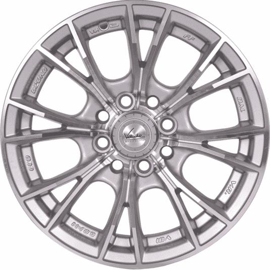 "14"" Veloche V81 Hyper silver"
