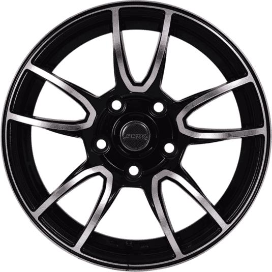 """15"""" SSW E105 Black Polished"""