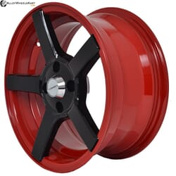 "15"" Flying Eagle XJ112 Red Glossy & Gloss Black"